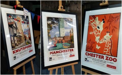 Some of the impressive artwork on display