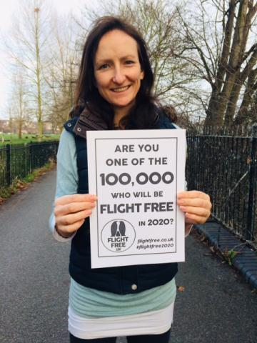 Anna Hughes, Director, Flight Free UK