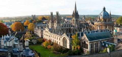 The beautiful city of Oxford