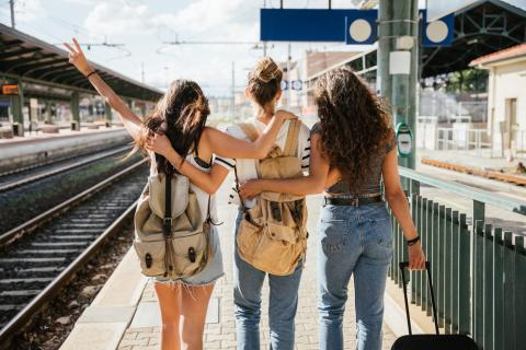 Days out by rail with friends