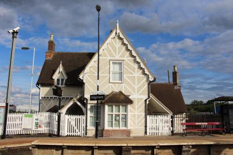 Ridgemont Station in the sunshine