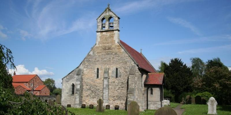 St Helena's Church, Austerfield nr Doncaster