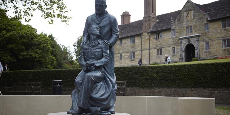 Memorial statue. Photo: VisitEastGrinstead.com