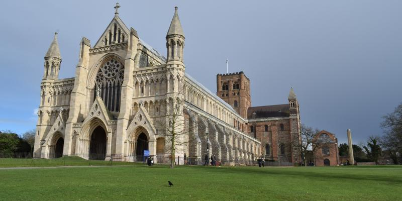 St Albans Cathedral.Photo: Elian Cristi Florescu from Pixabay