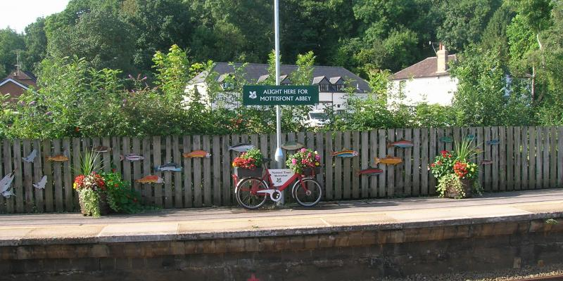 Station connection to Mottisfont Abbey