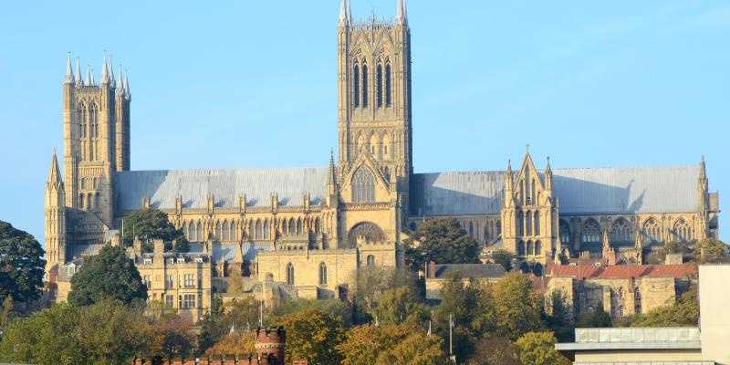 Marvel at the stunning Lincoln Cathedral