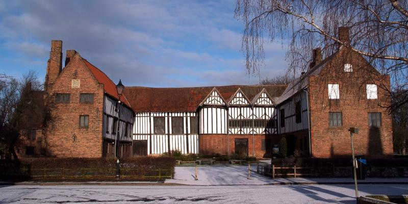 15th century Gainsborough Old Hall can be reached by the Roman Line, East Midlands Trains.