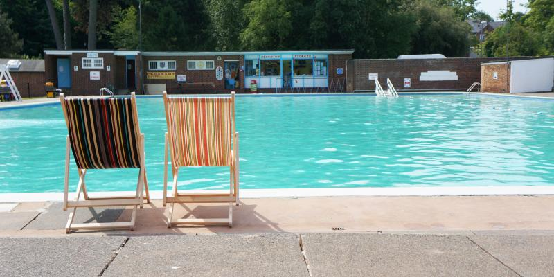Pells Pool lido at Lewes