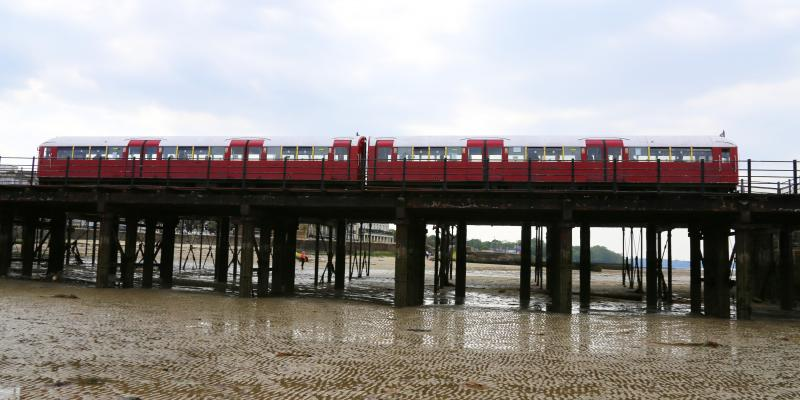 Train on the Isle of Wight
