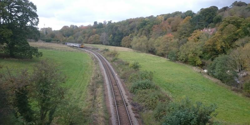 Esk Valley Railway with views of the North York Moors National Park