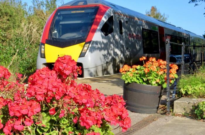 Days out by rail garden tour West Runton