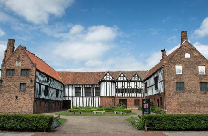 Gainsborough Old Hall in Lincolnshire