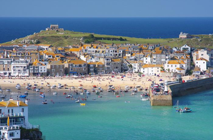 St Ives - photo under license from Shutterstock