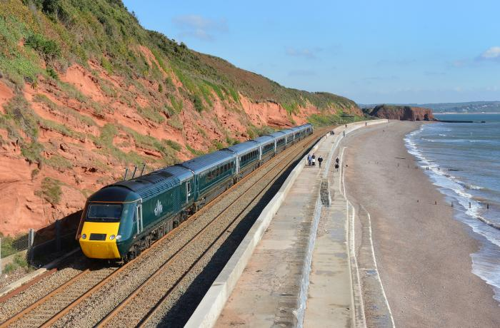 GWR high speed train on the Riviera Line